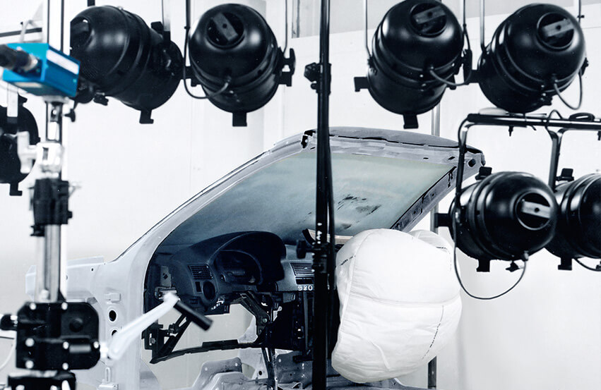 Airbag test system