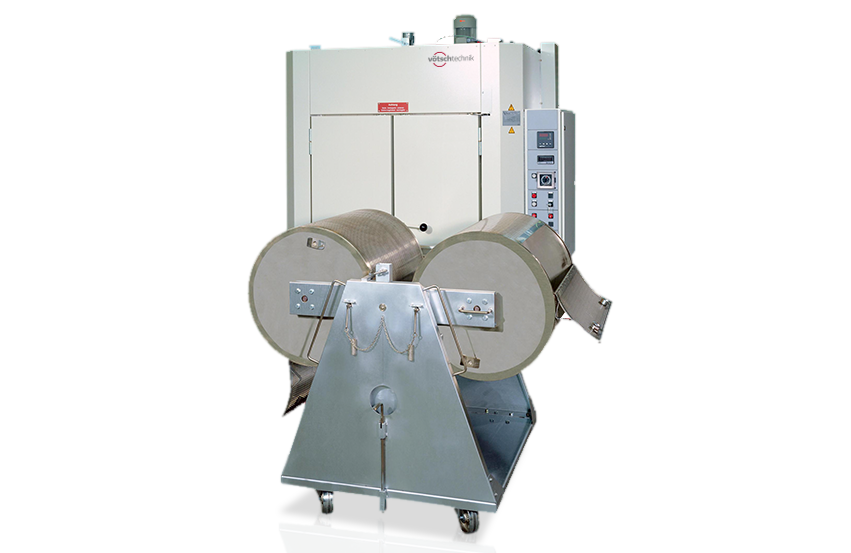 Solutions for bulk material: Drum turning device
