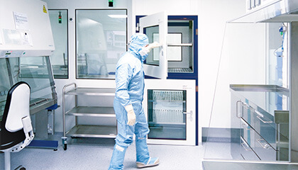 Air-conditioning technology - We offer reliable solutions for applications where special climatic conditions are necessary: in production, in cleanrooms, in measuring rooms, in hospitals or in information technology.