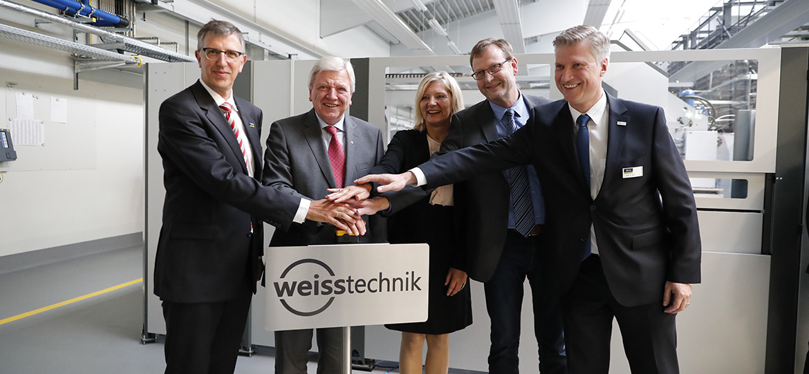 Prime Minister of Hesse Bouffier visits the Reiskirchen location