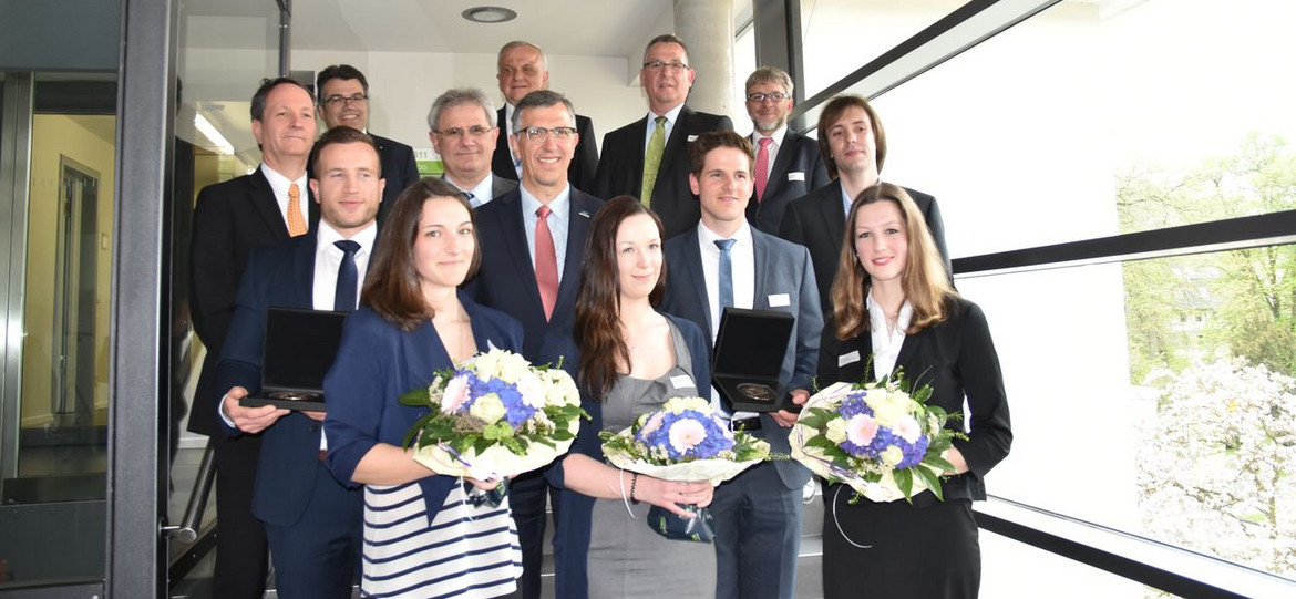 Ludwig Schunk Prize for outstanding academic achievements awarded