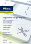 Download [.pdf]: Log book for refrigerating units
